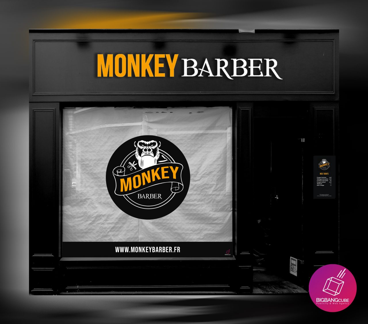 Monkey Barber Arras